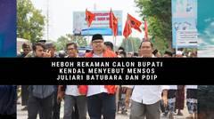 Heboh Rekaman Calon Bupati Kendal Menyebut Mensos dan PDIP dalam Pemenangan Pilkada