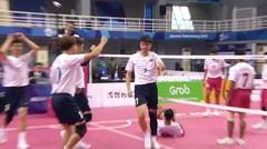 Full Highlight Sepak Takraw Putra Indonesia Vs China   Asian Games 2018