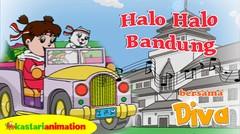 Halo Halo Bandung | Lagu Anak Indonesia bersama Diva | Kastari Animation
