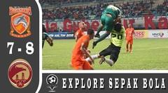 Borneo FC vs Sriwijaya FC (7-8) PENALTI | Highlight and Goals | Semi Final | Piala Gubernur Kaltim 2018
