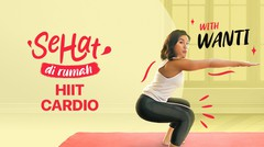 HIIT (High-Intensity Interval Training) Cardio with Wanti | Sehat di Rumah