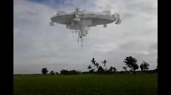 Berita terbaru ! Mengejutkan penampakan mahluk asing di area persawahan warga.