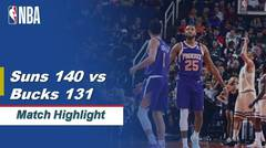 Match Highlight   Phoenix Suns 140 vs 131 Milwaukee Bucks   NBA Regular Season 2019/20