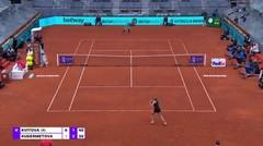 Match Highlights | Petra Kvitova 2 vs 1 Veronika Kudermatova | WTA Mutua Madrid Open 2021