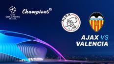 11 Dec 2019   03.00 WiB - Ajax vs Valencia - Liga Champions UEFA 2019-2020