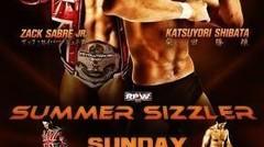 "British Heavyweight Championship : Zack Sabre Jr. (c) vs. ""The Wrestler"" Katsuyori Shibata"