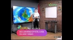GURUku SBOTV KELAS 2 Tema  BAHASA INGGRIS - 12 November 2020