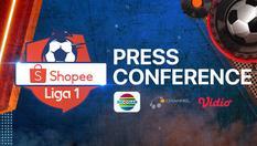 Press Conference Shopee Liga 1 - 24 Feb 2020 | 15:00 WIB