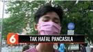 Tak Pakai Masker, Sejumlah Pelajar Dihukum Latunkan Pancasila