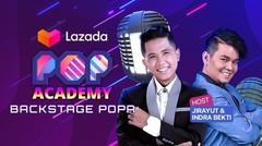 Backstage POPA #54 bersama Jirayut & Indra Bekti | Pop Academy 2020 - 19 Januari 2021