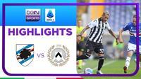 Match Highlights | Sampdoria 3 vs 3 Udinese | Serie A 2021/2022