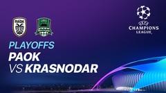 Full Match - PAOK VS Krasnodar I UEFA Champions League 2020/2021