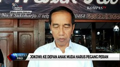 Jokowi Soal Gibran-Kaesang Masuk Bursa Wali Kota: Harusnya Anak Muda yang Pegang Peran