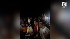 Jokowi Goyang Dayung Nonton Closing Asian Games