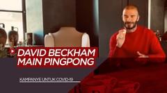 Kampanye Unik Mantan Pemain Manchester United, David Beckham untuk Lawan COVID-19