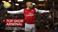 Thierry Henry dan 3 Pemain Prancis dengan Torehan Gol Terbanyak di Arsenal