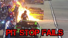 Top 5 PIT STOP FAILS Of All Times Nascar gp