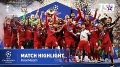 UEFA CHAMPIONS LEAGUE FINAL | TOTTENHAM HOTSPUR 0 - 2 LIVERPOOL | HIGHLIGHT | MADRID 2 JUNI 2019