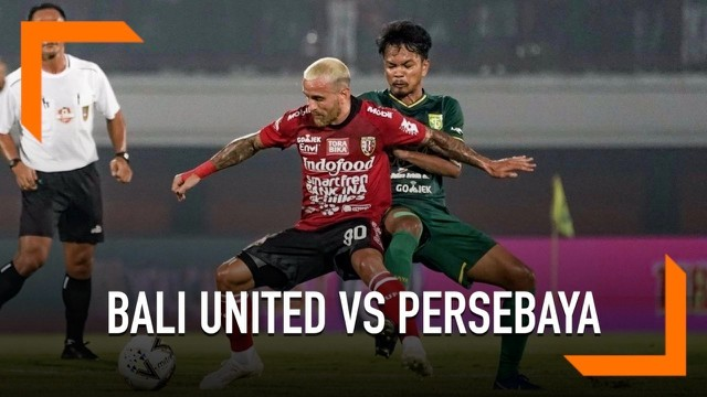 Video Highlight Shopee Liga  Bali United Vs Persebaya   Bola Liputan