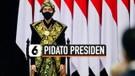 Jokowi Pakai Baju Adat NTT di Sidang Tahunan MPR