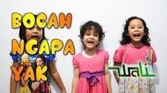 Wali Bocah Ngapa Yak - Lyrik (Upin Ipin Version)
