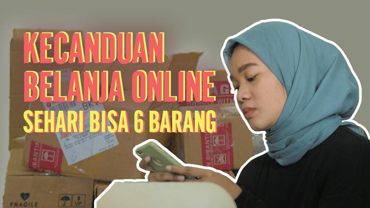 Kena Candu Belanja Online