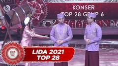 Fans Berat!!! Rara LIDA Sekali Lihat Bisa Tahu Mana Doni Mana Dion!! Setiap Hari Nonton!! | LIDA 2021