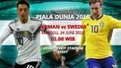 HIGHLIGHTS JERMAN VS SWEDIA