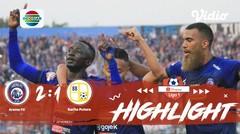 Full Highlight - Arema FC 2 vs 1 Barito Putera FC | Shopee Liga 1 2019/2020