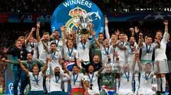 Selebrasi Real Madrid Juara - Liga Champions 2018