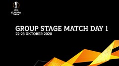 Europa League Group Stage | Matchday 01 22-23 Oktober 2020