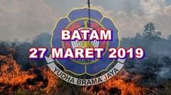 Kebakaran Hutan Di Batam Rabu 27 Maret 2019
