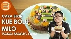 Cara Bikin Bolu Milo Tanpa Mixer Pakai Magic Com/Rice Cooker