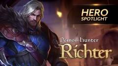 Richter - Hero Spotlight Garena AOV (Arena Of Valor)