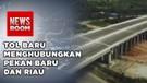 Presiden Resmikan Tol Trans Sumatra
