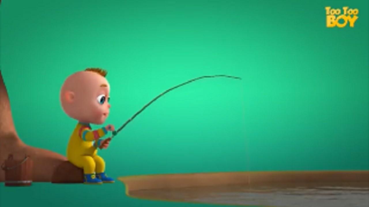 Memancing Ikan Kartun Bayi Lucu Episode 5 Too Too Boy 5
