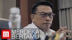 Merdeka Bertamu: Moeldoko dan Cerita Ruang Kerja Soeharto