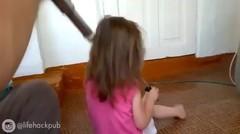 Cara Ayah Mengkuncir