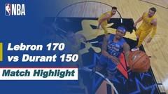 Match Highlight | Team LeBron 170 vs 150 Team Durant | NBA All-Star 2020/21