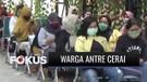 Kantor Pengadilan Agama Jakarta Utara Ramai oleh Warga yang Ingin Ajukan Cerai