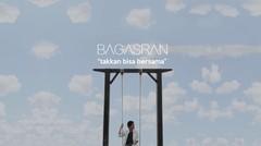 Bagas - Takkan Bisa Bersama (Official Lyric Video)