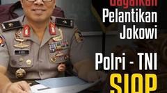 Tangkap! upaya gagalkan pelantikan Jokowi, Mulai dari Papua, RUU KPK hingga karhutla