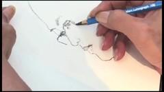 Dahsyat! Sketsa Wajah Cepat, Tidak Sampai 5 Menit! oleh Toto BS