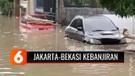 Hujan Deras di Bogor, Jakarta dan Bekasi Kebanjiran | Liputan 6