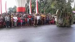 Parade Budaya Hut Kota Singaraja Ke - 413 Kecamatan Busungbiu