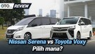 Nissan Serena vs Toyota Voxy - Review - Pilih Yang Mana - OTO.com