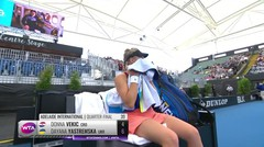 Match Highlight | Dayana Yastremska 2 vs 0 Donna Vekic | WTA Adelaide International 2020