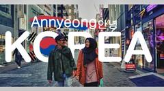 Hallo Korea, annyeong! Pertama kali menginjakan kaki di Korea ! Vlog#01