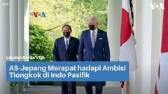 AS-Jepang Merapat hadapi Ambisi Tiongkok di Indo Pasifik
