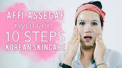 10 Steps Korean Skincare Routine Indonesia - Skincare 101